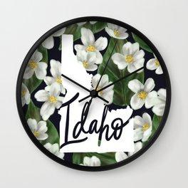 Idaho - Syringa Wall Clock