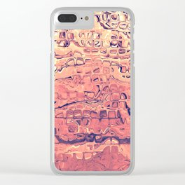 Layers of Sand Clear iPhone Case