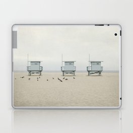 Lifeguard Towers with Birds Laptop & iPad Skin