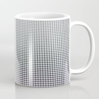 grid Mugs featuring Grid by Kaamil Ajmeri
