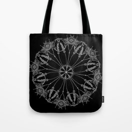 Flower Lace Tote Bag