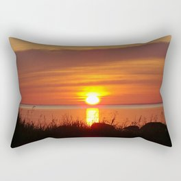 Seaside Sunset Rectangular Pillow