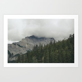 Road to Banff Art Print