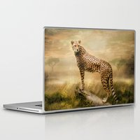 cheetah Laptop & iPad Skins featuring Cheetah by tarrby/Brian Tarr