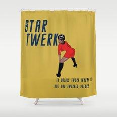 STAR TWERK Shower Curtain