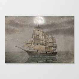 Night Journey  Canvas Print