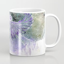 Snow Angel On Mountaintop Above Dewdrop Holler Coffee Mug