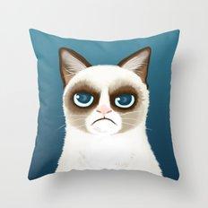 Grumpy Throw Pillow