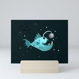Disco Angler Mini Art Print