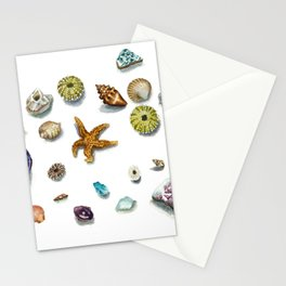 Beach Treasure Stationery Cards