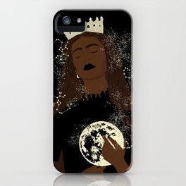 Moon Queen iPhone Case