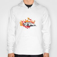 lamborghini Hoodies featuring Lamborghini Huracan by Claeys Jelle Automotive Artwork