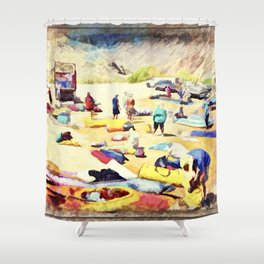 Grand Canyon Put In Shower Curtain