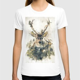Deer Surrealism T-shirt