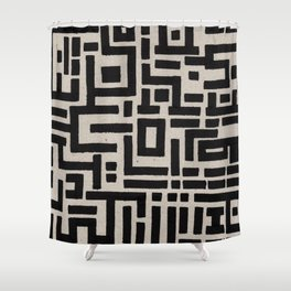 Trip Hop In The City Shower Curtain