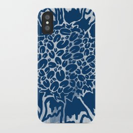 Free Trade in Navy iPhone Case