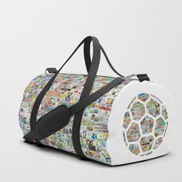 Philately Soccer Ball Duffle Bag