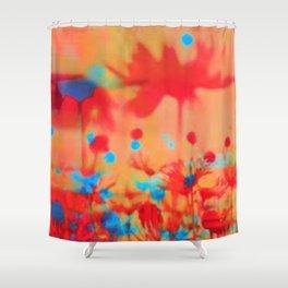 Dancing Daisies Shower Curtain