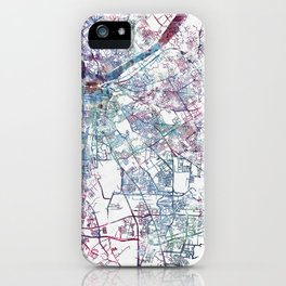 Louisville map (without name) iPhone Case