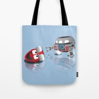 olaf Tote Bags featuring OLAF - INCENT by dapperdesignz