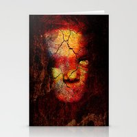 zombie Stationery Cards featuring Zombie by Joe Ganech
