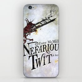 Nefarious Twit, Where the Ladder Leads  iPhone Skin