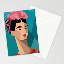 Frida Kahlo Cubism Stationery Cards