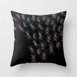 Myrmecophobia Throw Pillow