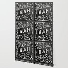 Nah – Black & Grey Palette Wallpaper