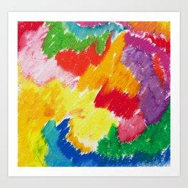 Sunny Abstract 1 Art Print