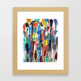 Paint upwards Framed Art Print