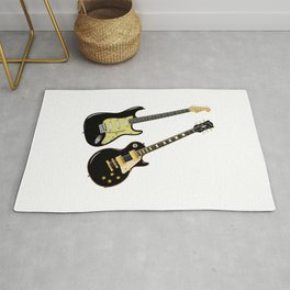 Elecric Guitars Rug