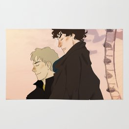 Sherlock and John Rug