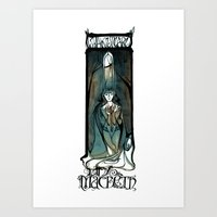 Lady Macbeth Illustration From Shakespeare Art Print