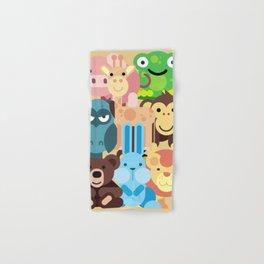 Zoo Animals Farm Animals Kids Room Decor Nursery Decor Baby Hand & Bath Towel