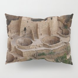 Cliff Palace Overview Pillow Sham