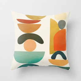 Modern Abstract Art 72 Throw Pillow