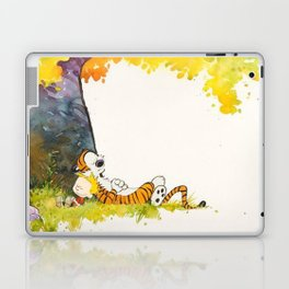 Calvin And Hobbes Cartoon Laptop & iPad Skin