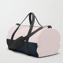 Pink & Naval & Rose Abstract Background Duffle Bag