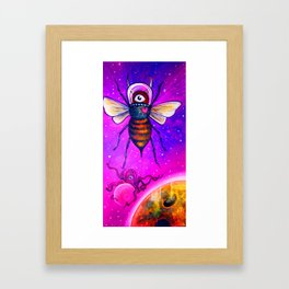 Victoria's Space BEE No. 1 Framed Art Print