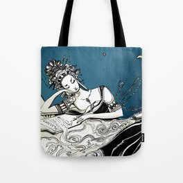 Calliope, The Muse of Epic Poetry Tote Bag