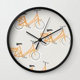 Bicycles Wall Clock