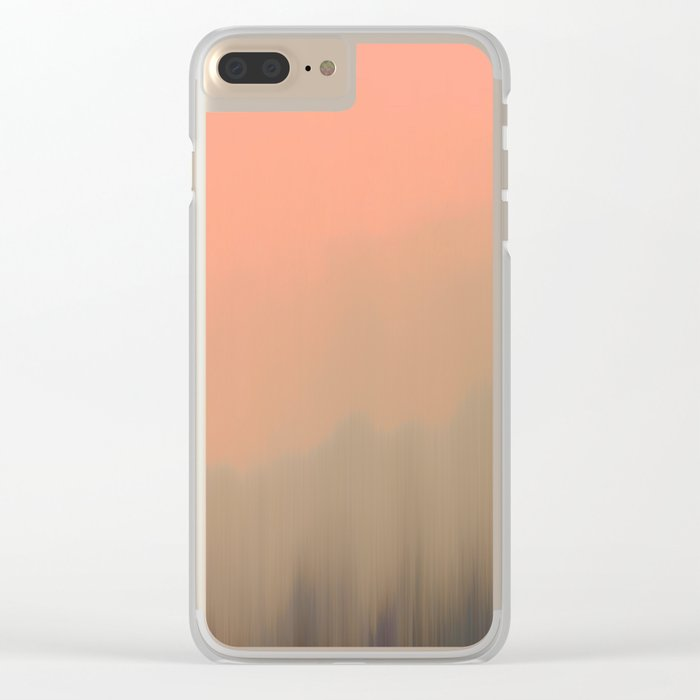 Empty Fog Clear iPhone Case