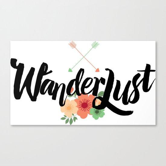 Wanderlust 02 Canvas Print