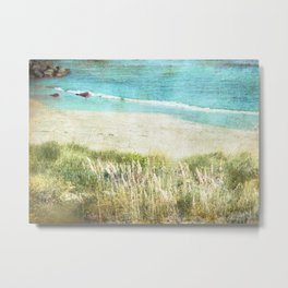 Colours by the Sea Metal Print