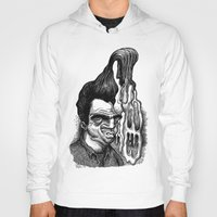 grease Hoodies featuring Dave's Grease Ghost by PRESTOONS / Art by Dennis Preston