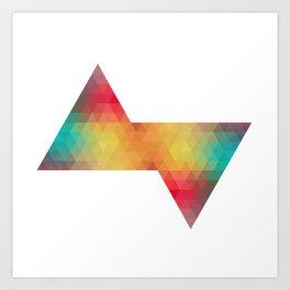 Triangle Arts Art Print