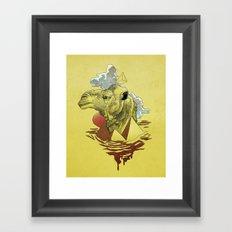 King of the Desert Framed Art Print