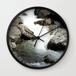 """Where the Mighty Uncompahgre River is But a """"Trickle"""" Wall Clock"""