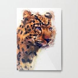 gepard Metal Print